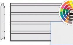 Brama LPU 42, 4250 x 2125 Przetłoczenia D, Silkgrain, kolor do wyboru