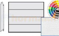 Brama LPU 42, 2190 x 1955, Przetłoczenia L, Woodgrain, kolor do wyboru