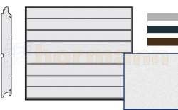 Brama LPU 42, 2375 x 1875 Przetłoczenia M, Sandgrain, kolor do wyboru