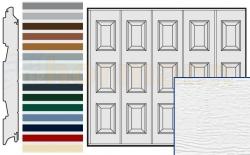 Brama boczna HST, Woodgrain, Kasetony S, kolor do wyboru