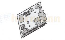 Płytka sterowania - centrala do LineaMatic P, 16 przełączników DIL io