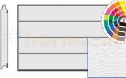 Brama LPU 42, 3000 x 3000, Przetłoczenia L, Woodgrain, kolor do wyboru