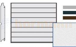 Brama LPU 42, 2375 x 2000, Przetłoczenia M, Sandgrain, kolor do wyboru