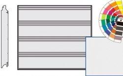 Brama LPU 42, 2250 x 2125, Przetłoczenia T, Silkgrain, kolor do wyboru