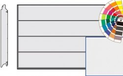Brama LPU 42, 3750 x 2125, Przetłoczenia L, Silkgrain, kolor do wyboru