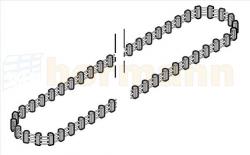 Pas zębaty (bez złącza pasa zębatego) do prowadnicy FS 3 / FS 3-M EcoStar, EcoStar (typ C), EcoStar Plus, EcoStar Plus (typ C), Liftronic 700/800 (455 zębów)