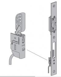 Układ kontroli zamknięcia (czujnik rygla) do drzwi ThermoPlus