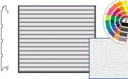 Brama LTE, 2250 x 1875, Przetłoczenia S, Woodgrain, kolor do wyboru