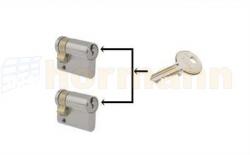 Zestaw dwóch wkładek z jednakowym wzorem klucza do sterowników ESU 40 / ESA 40 / STUP 40 / STAP 40