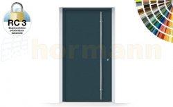 Drzwi aluminiowe ThermoSafe, Wzór 860, kolor do wyboru, przeciwwłamaniowe RC 3