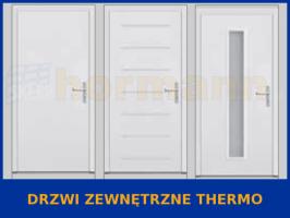 Drzwi zewnętrzne Thermo