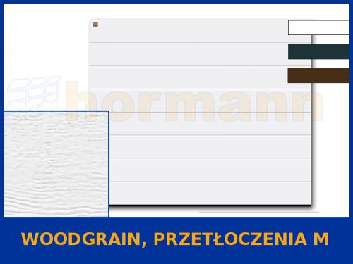 WZÓR: Woodgrain, Przetłoczenia M