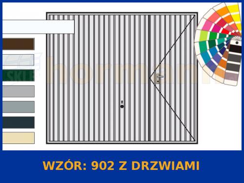 Wzór 902 z drzwiami
