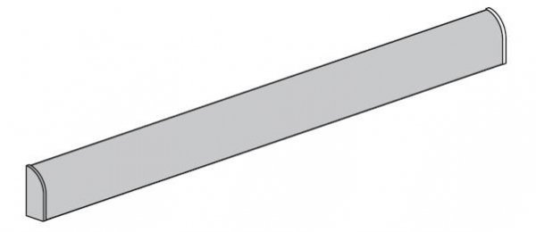 Okapnik dolny do drzwi ThermoPro i ThermoPlus, kolor biały RAL 9016