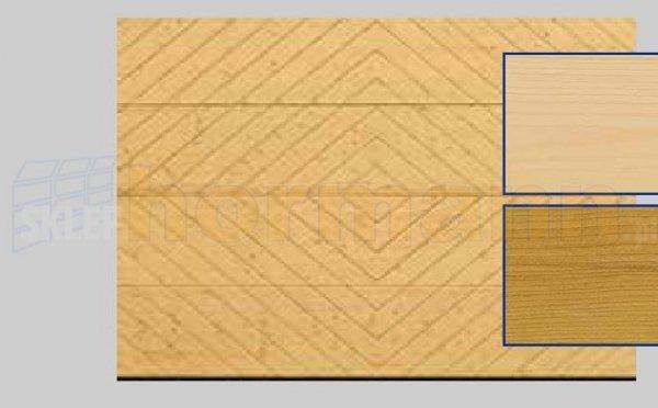 Brama LTH, 5000 x 2125, Wzór 402, Świerk