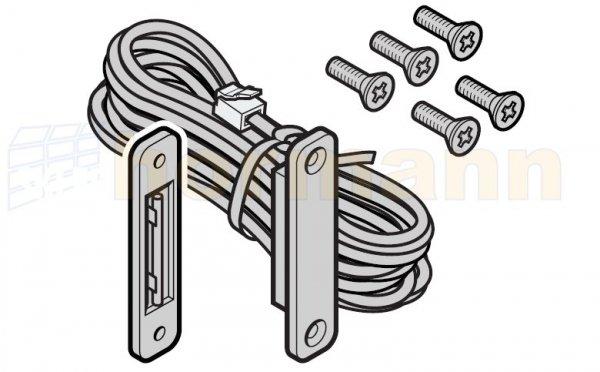 Wyłącznik krańcowy drzwi w bramie, długość przewodu: 2700 mm, dla bram produkowanych do 31.12.2011 r.
