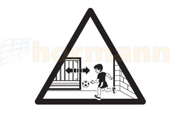 Tabliczka ostrzegawcza do LineaMatic / P / H