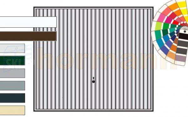 Brama uchylna N 80, 2750 x 2000, Wzór 902, kolor do wyboru