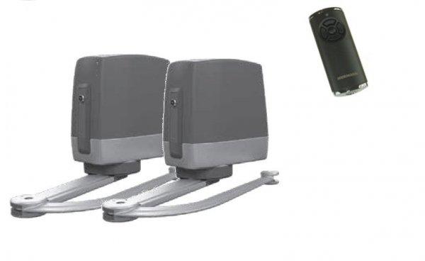ZESTAW: napęd VersaMatic 2 BiSecur (skrzydło do 2000 mm, do 200 kg) + pilot HS 5 BS (z funkcją sprawdzania statusu bramy)