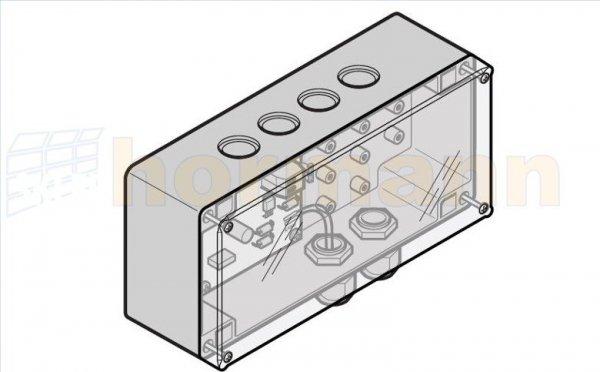 Regulator ładowania (panel do modułu baterii słonecznych) do ProMatic Akku