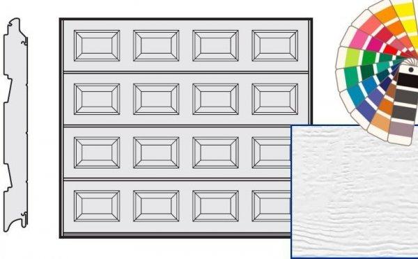 Brama LPU 42, 5000 x 2125, Kasetony S, Woodgrain, kolor do wyboru