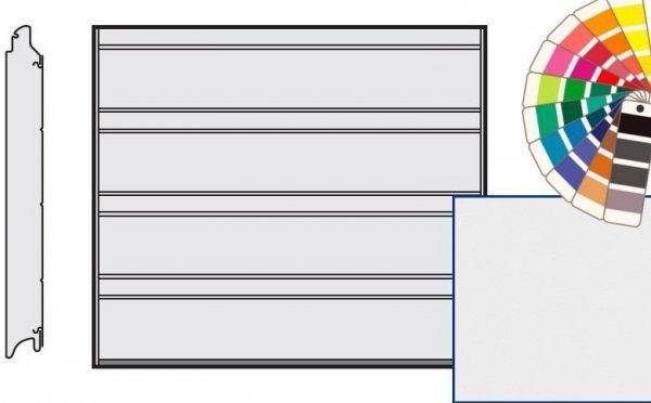 Brama LPU 42, 2375 x 2125, Przetłoczenia D, Silkgrain, kolor do wyboru