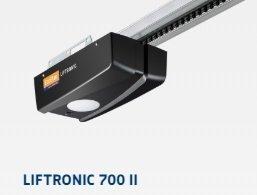 ZESTAW: napęd Liftronic 700 (siła 700 N, do 9.5 m2) + szyna średnia FS 3-M + dwa piloty RSC 2 + sterownik PB1