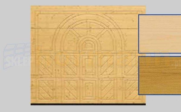 Brama LTH, 2500 x 2125, Wzór 404, Świerk