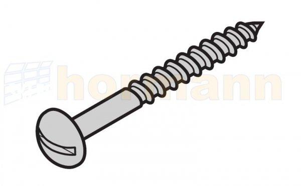 Śruba PT K 4,0 x 33 mm do szyldu na uchwyt do bram N 80 / F 80 / brama z drzwiami bocznymi
