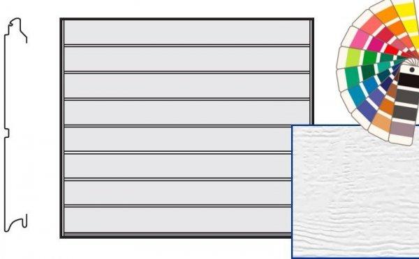 Brama LTE, 2315 x 1955, Przetłoczenia M, Woodgrain, kolor do wyboru