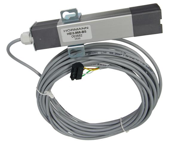 Odbiornik 3-kanałowy HEI 3 BS do napędów Hormann (aluminiowa obudowa, stabilny zasięg, funkcja impuls)