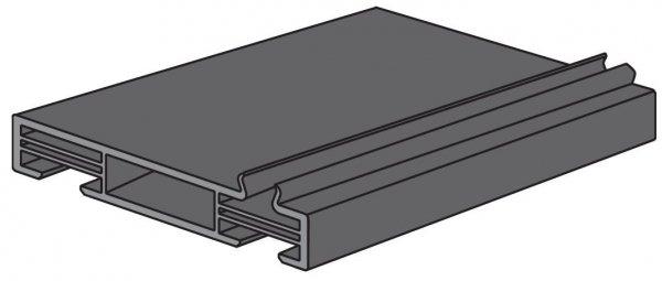 Profil nośny (czarny) do drzwi ThermoPlus