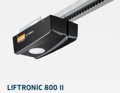 ZESTAW: napęd Liftronic 800 (siła 800 N, do 12.5 m2) + szyna FS 3-M + dwa piloty RSC 2 + sterownik PB3 + klawiatura kodowana RCT 3b