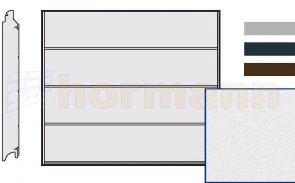 Brama LPU 42, 2375 x 2125, Przetłoczenia L, Sandgrain, kolor do wyboru