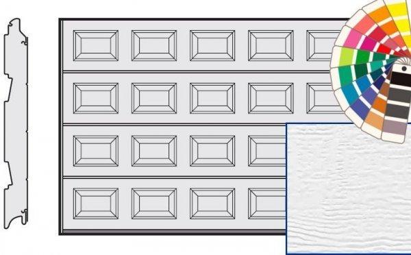 Brama LPU 42, 5000 x 2250, Kasetony S, Woodgrain, kolor do wyboru