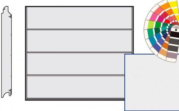 Brama LPU 42, 2375 x 2000, Przetłoczenia L, Silkgrain, kolor do wyboru