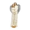 Para aniołów-świecznik. Wysokość 40 cm. Materiał: gips.