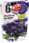 PODGRZEWACZ 6 SZTUK TEA LIGHT Blueberry