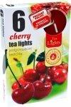 PODGRZEWACZ 6 SZTUK TEA LIGHT Cherry