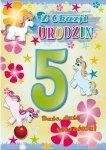 Kartka Z okazji urodzin 5