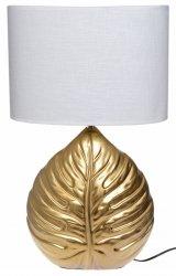 LAMPA ZŁOTA LIŚĆ