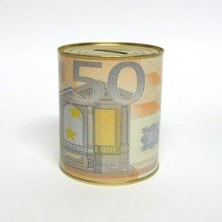 SKARBONKA METALOWA 50 EURO