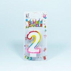 Świeczka urodzinowa '2 '