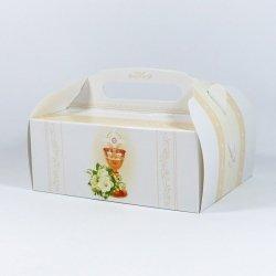 Pudełko na ciasto, komplet 10 szt. wzór 61
