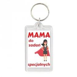 Brelok dwustronny Mama do zadań specjalnych