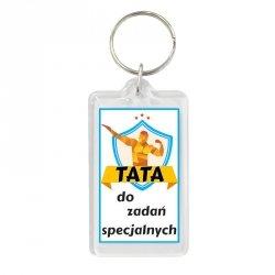 Brelok dwustronny Tata do zadań specjalnych