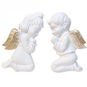 Aniołek dziewczynka i chłopiec