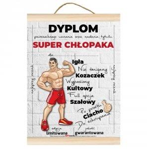 Dyplom dla Super Chłopaka Igła, nie śmigany, kozaczek...