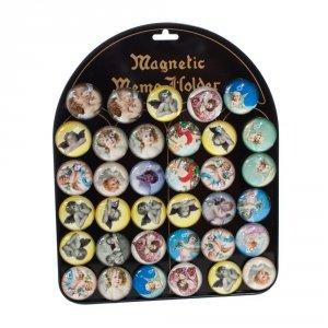 Zestaw 35 magnesów - aniołki