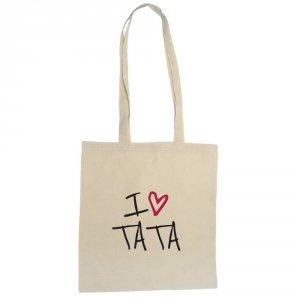 Torba eko z napisem I Love Tata